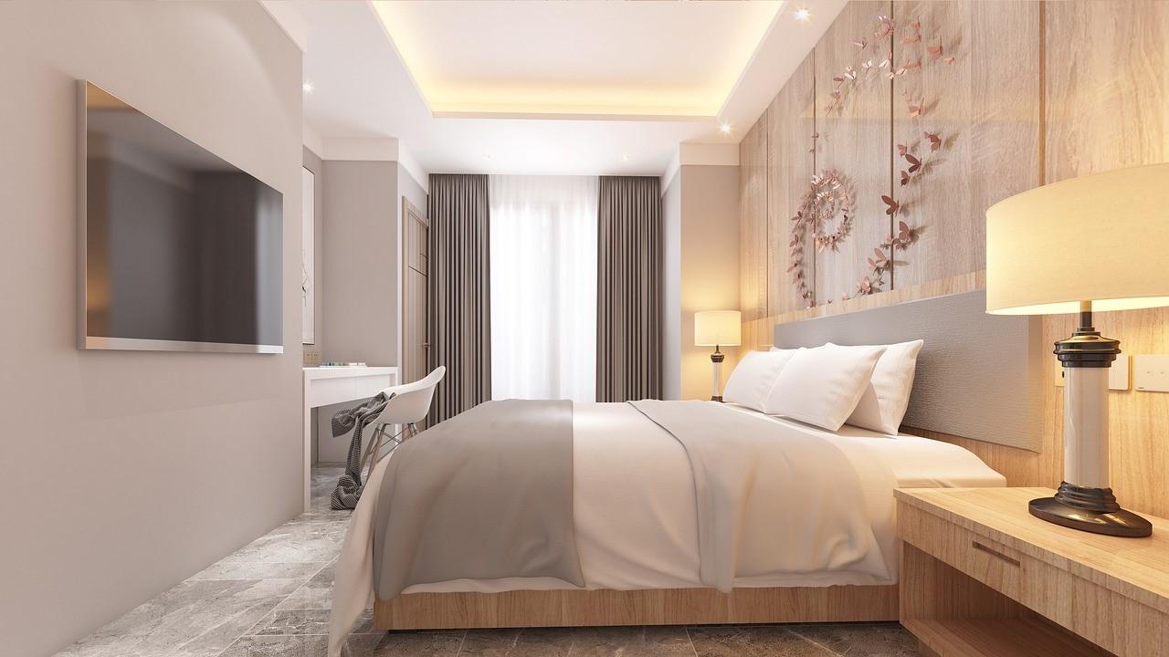 Aranżacja lamp w sypialni