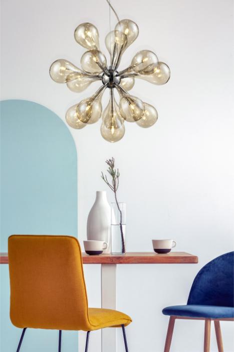 Zdjęcie lampy w aranżacji