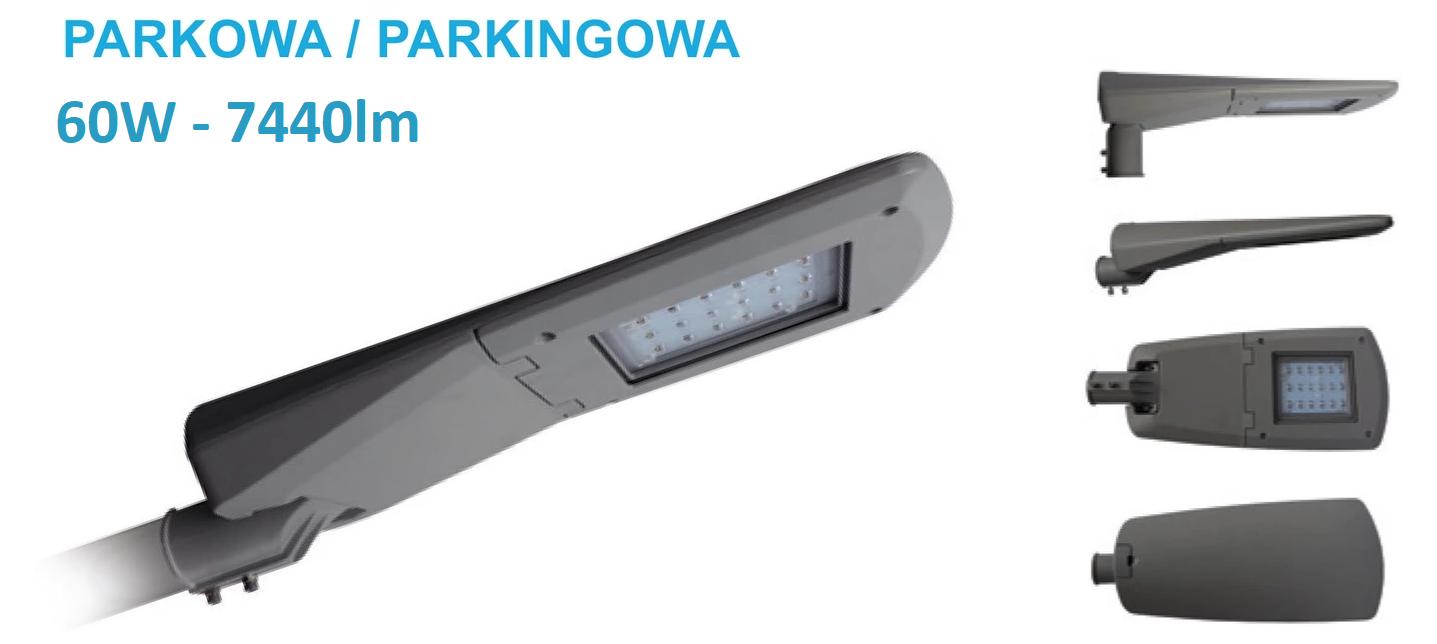 lampa uliczna parkingowa