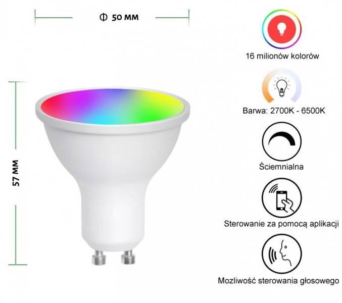 Inteligentna Żarówka LED Wifi