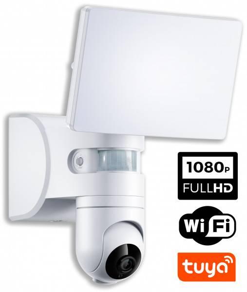 Naświetlacz LED z kamerą